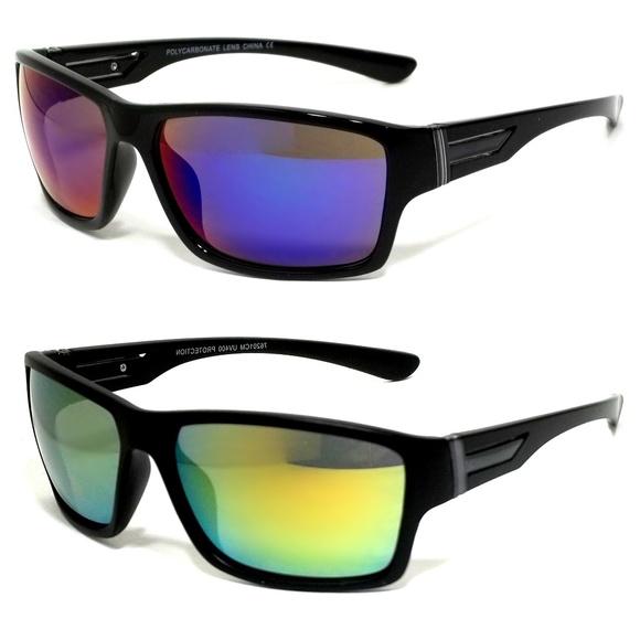 f339dcf93de Sport Sunglasses Wrap Fearless Style Mirror Lens